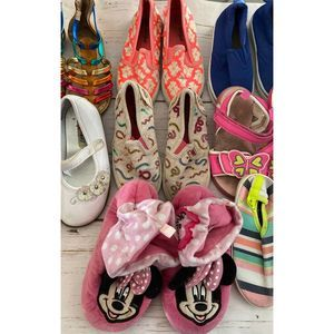 Girl Shoes Bundle of 9 pairs